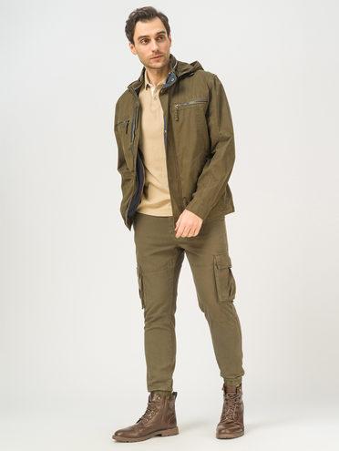 Ветровка 100% хлопок, цвет темно-зеленый, арт. 35810461  - цена 4990 руб.  - магазин TOTOGROUP