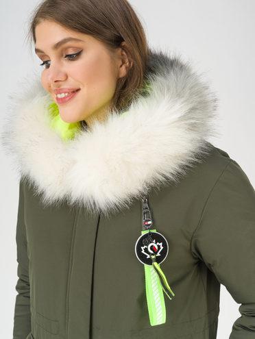 Пуховик 100% полиэстер, цвет темно-зеленый, арт. 35810933  - цена 4740 руб.  - магазин TOTOGROUP