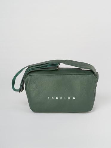 Сумка кожа теленок, цвет темно-зеленый, арт. 35811032  - цена 4990 руб.  - магазин TOTOGROUP