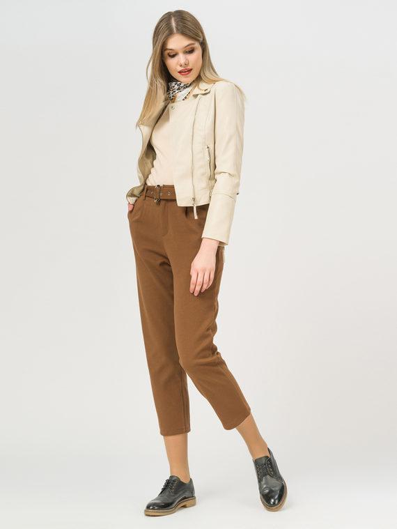 Кожаная куртка эко-кожа 100% П/А, цвет кремовый, арт. 36809292  - цена 2990 руб.  - магазин TOTOGROUP