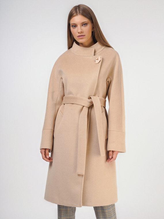 Текстильное пальто , цвет кремовый, арт. 36809317  - цена 4990 руб.  - магазин TOTOGROUP