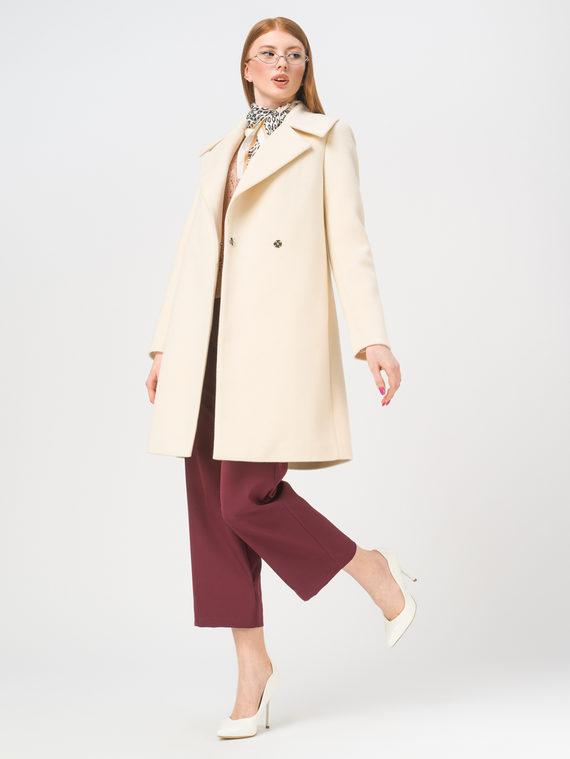 Текстильное пальто , цвет кремовый, арт. 36809323  - цена 5890 руб.  - магазин TOTOGROUP