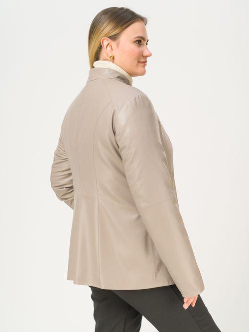 Кожаная куртка артикул 36810041/50 - фото 3