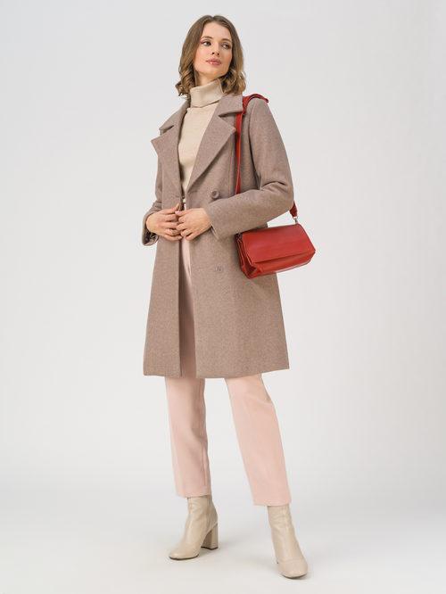 Текстильное пальто артикул 36810869/42 - фото 2