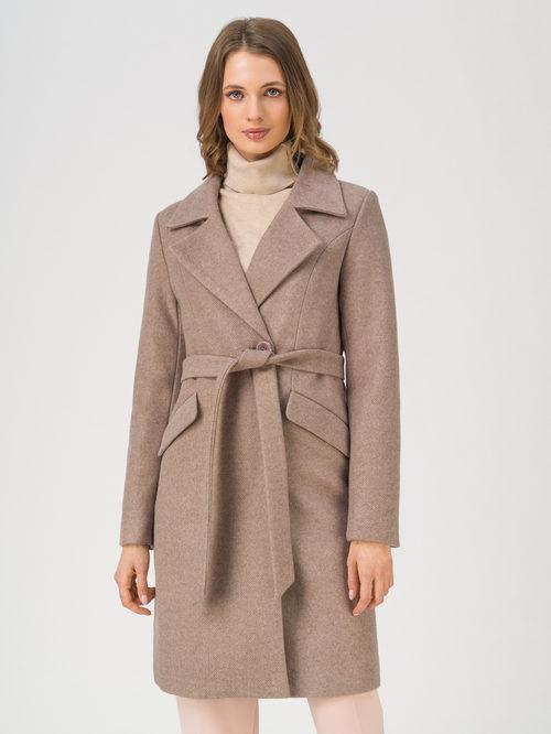 Текстильное пальто артикул 36810869/42 - фото 3