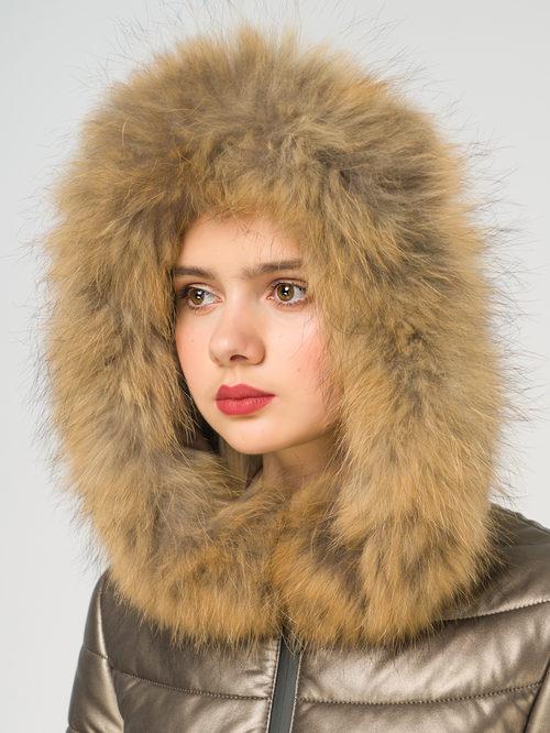 Кожаное пальто артикул 39108577/42 - фото 4