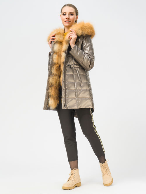 Кожаное пальто артикул 39109050/42