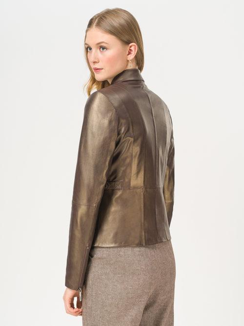 Кожаная куртка артикул 39802451/44 - фото 3