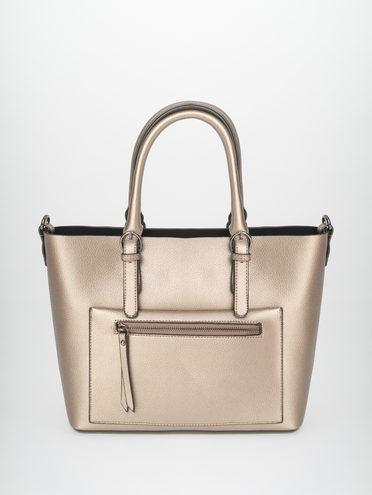 Сумка эко-кожа 100% П/А, цвет коричневый металлик, арт. 39810458  - цена 2290 руб.  - магазин TOTOGROUP